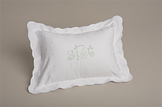 Scallop-Edged Pillows | Gallery Photo